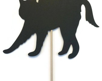 Halloween Photo Booth Props- LARGE Black Cat Photo Booth Prop
