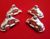 """10pc """"car"""" charms in antique style (BC488)"""