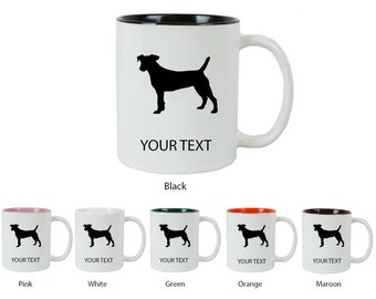 Personalized Custom 11 Oz Jack Russell Terrier Coffee Mug Cup Holiday Gift