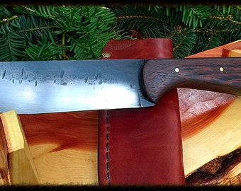 "Personalized Knife : Hand forged  ""Maverick"""