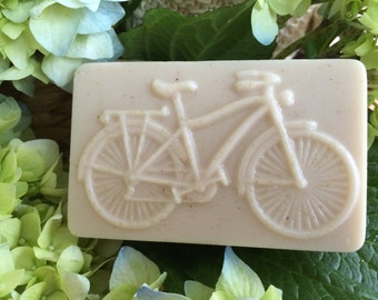 "Goat's Milk and Shea Butter Soap ""Bicycle"""