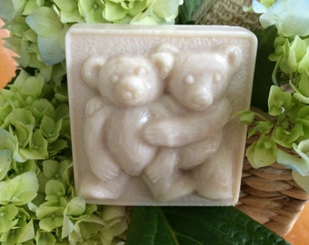 "Goat's Milk and Shea Butter Soap ""Teddy Bears"""