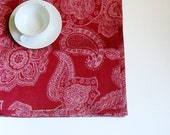 LINEN table cloth christmas linen tablecloth red wine Linen. Rectangle linen tablecloth by LinenWoolRainbow