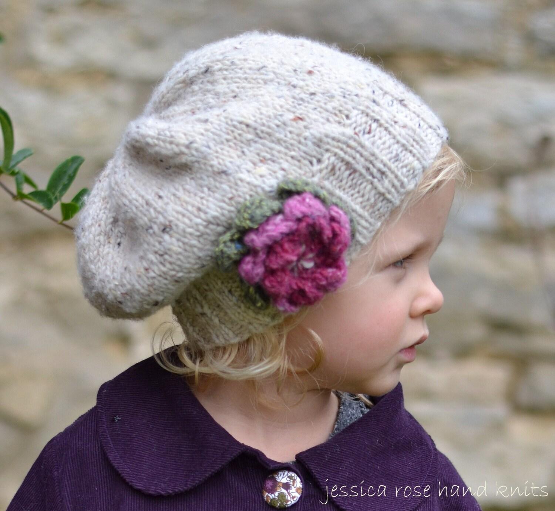 KNITTING PATTERNS girls hats little by jessicarosehandknits