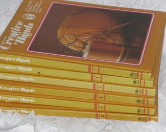 Greystone's Creative Hands Books Volumes 1-6 Knitting, Dressmaking & Needlecraft Guide