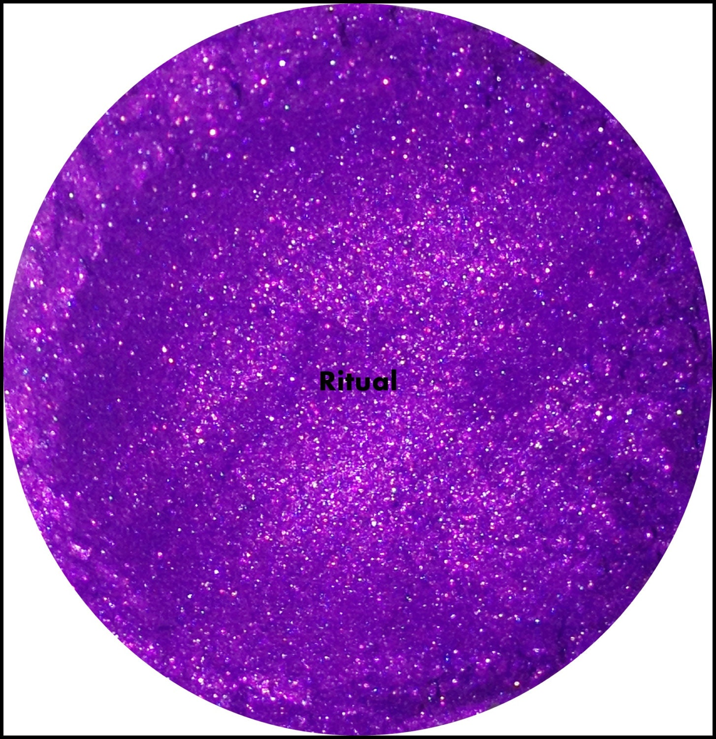 Mineral Makeup Eyeshadow Ritual Bright Purple Eye by ...