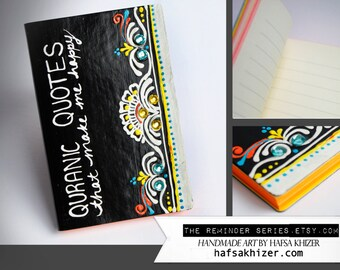 Black Islamic Journal, small notebook