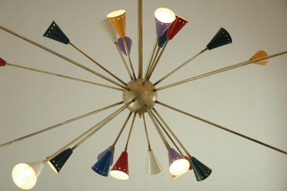 Lustre géant de Spoutnik lumière de la lampe par ICONICLIGHTS