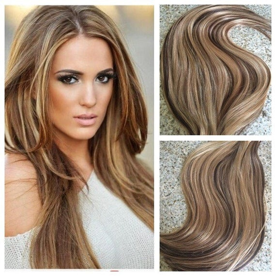 5 star balayage highlighted european remy tape in seamless like this item pmusecretfo Image collections