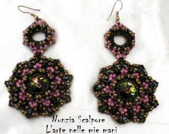 """PATTERN earrings """"Syria"""""""