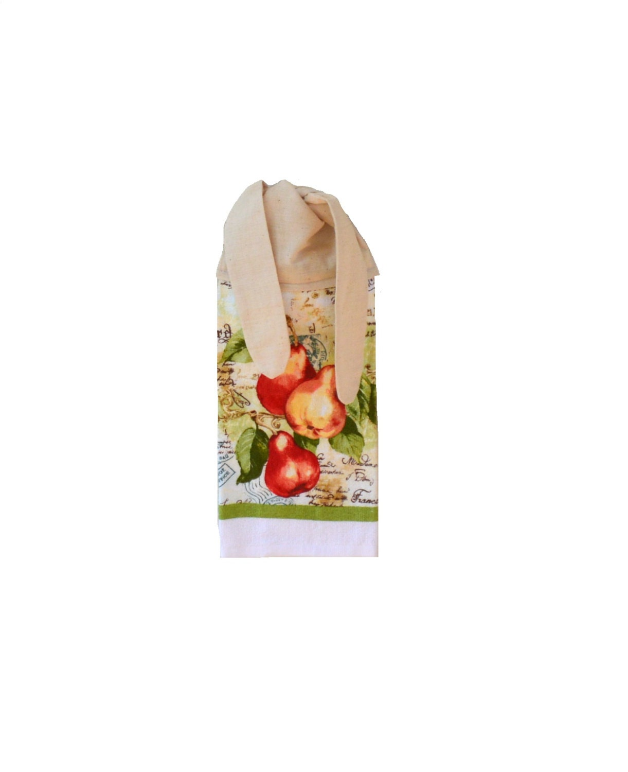 Fruit dish towel kitchen hand towel fruit decor by - Kitchen curtains with fruit design ...