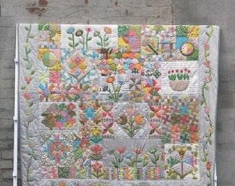 Green Tea and Sweet Beans Quilt Pattern - Jen Kingwell - Jen Kingwell Designs - JKD 5002