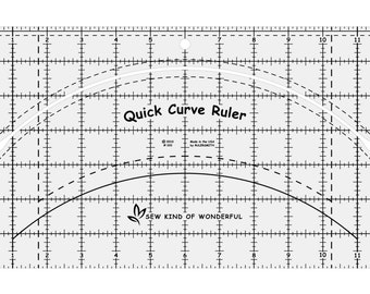 Ruler - Quick Curve - Sew Kind of Wonderful