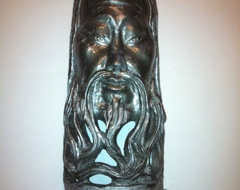 Asian / Wizard Home Decor Sculpture! Eye-Catcher! Gorgeous inexpensive Statue