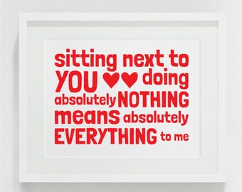 Valentines printable, Valentines print, Valentines digital, Love printable, Valentines download, Love download, digital print, for him