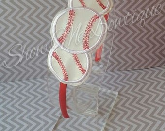 Baseballs Headband Slip'em design Instant Download