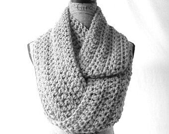 Choose Your Color Large Cowl Scarf Fall Winter Women's Accessory Infinity Made To Order