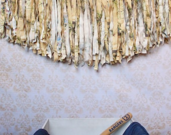 Fabric Rag Tie Photo Prop Bunting