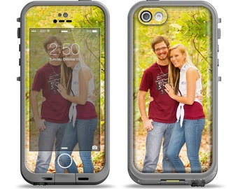 The Custom Photo Apple iPhone LifeProof Case Skin Set