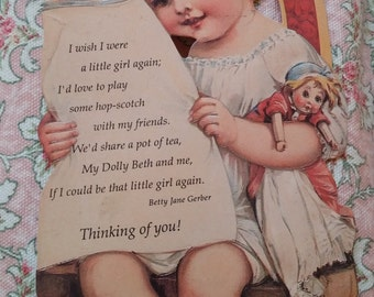1900's style Greeting Card