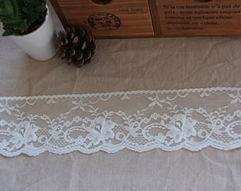 Lace Trim mesh embroidery lace trim Retro lace ribbon 3 yards