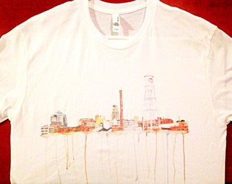 Durham Skyline Short Sleeve Shirt
