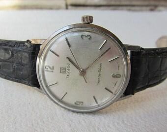 Vintage Mens Watch Tissot Seastar Seven Swiss Watch Working Retro Watch Collectible watch Old watch Wrist Watch Mechanical Men's Watches