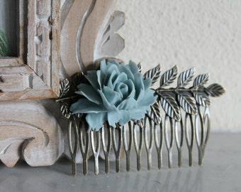 Antique Bronze Brass Leaves Teeth Barrette Hair Combs,Brass Leaves Hair Combs,Teeth Barrette Hair Combs