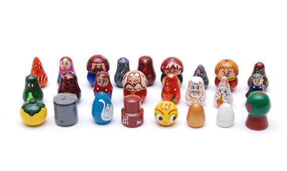 Teremok giocattolo kolobok legno repka rapa ryaba di for Masha giocattolo