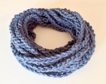 Cobalt Chain Scarf