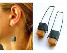 Baltic Amber Earrings / Baltic Amber Stone Earrings, / Baltic Amber Earrings In Handmade / - il_214x170.710981418_eba6