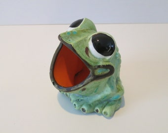 Vintage: Frog sponge or scouring pad holder