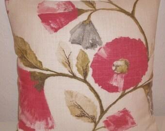 "Harlequin LISANNE fabric cushion cover, pillow cover, 16"" x 16"" (41cm x 41cm)"