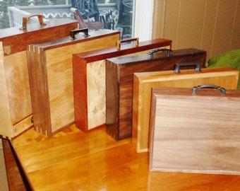 Custom Wooden Briefcase