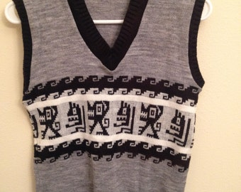 Boys Vintage Sweater Vest