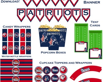 Popular items for patriots party on Etsy
