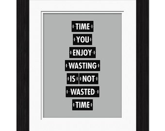 Wasting Time Affirmation