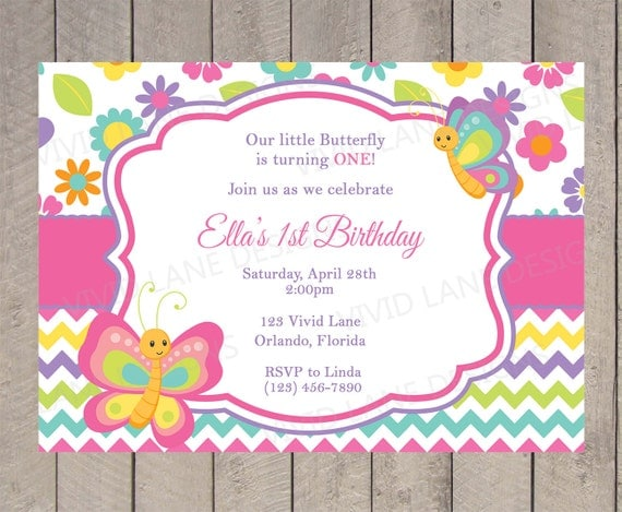 First Birthday Party Invitations Wording as adorable invitations example