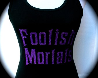 Foolish Mortals Tank, Workout Tank