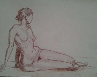 Female Figure Drawing / Study