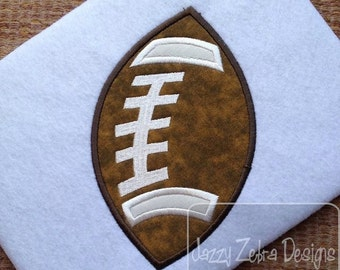 Football Applique embroidery Design - football applique design