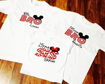 Brother and Sister disney shirt