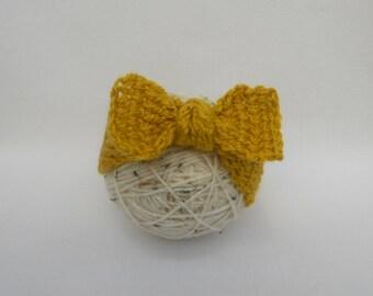 Baby Turban Headband- Baby Earwarmer- Gift Idea- Fall Fashion - Top Knot Headband - Crochet Knot Headband - Choose your colour and size