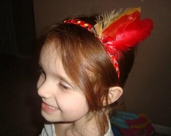 Thanksgiving Feathers Headband, READY TO SHIP!