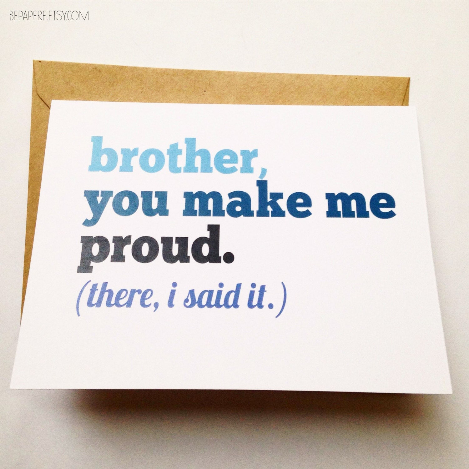 Brother Card Brother Birthday Card Funny Card Card for – Birthday Funny Greetings