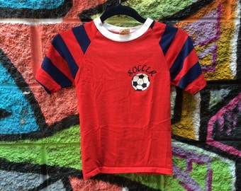 Red and Blue Soccer Shirt (Youth)