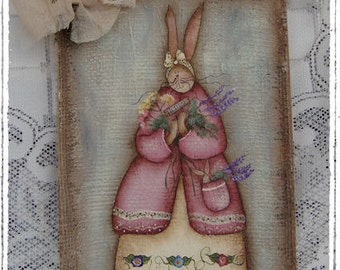 Terrye's Garden Herb Bunny - email pattern packet by Deb Antonick