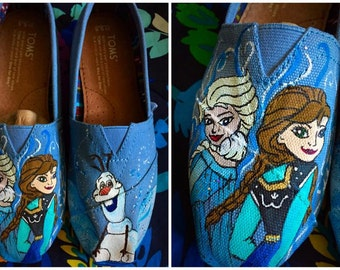 Custom made Frozen Toms. Designed and personalized just for you!