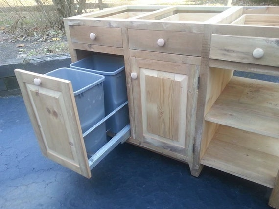 items similar to reclaimed barn wood kitchen island with