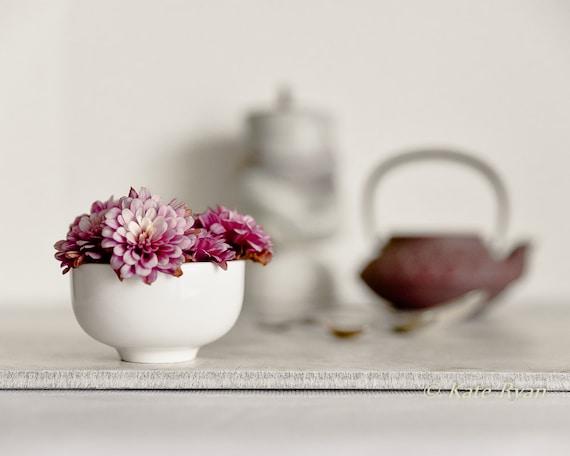 Flower Photography, Still Life, Chrysanthemums, Mums, Pink, Purple, Mauve, Kitchen Wall Art, Home Art, Office Art, Spa Art, Zen Style